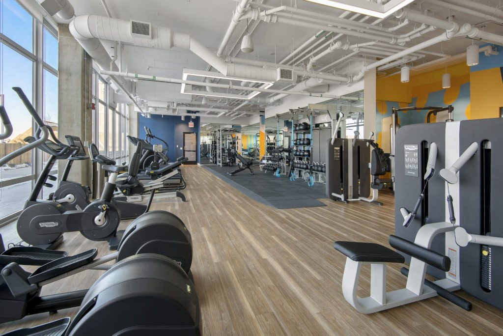 Spoke fitness center healthy amenities