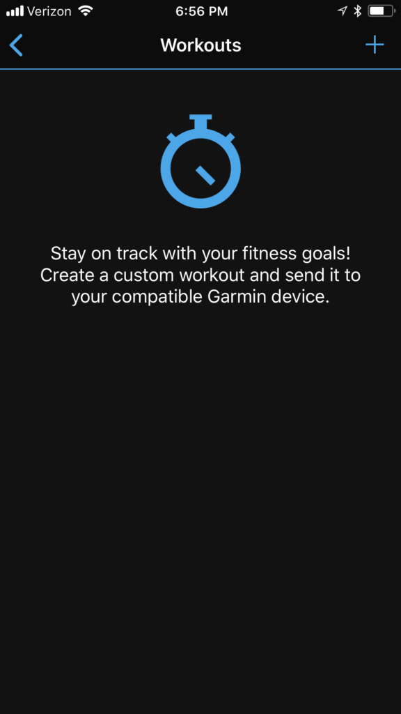 How to make a workout with your Garmin watch