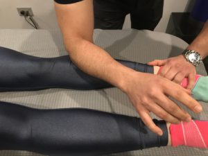 Delos and shin splints