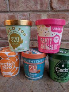 Ice cream alternatives