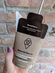Sacred Serve gelato
