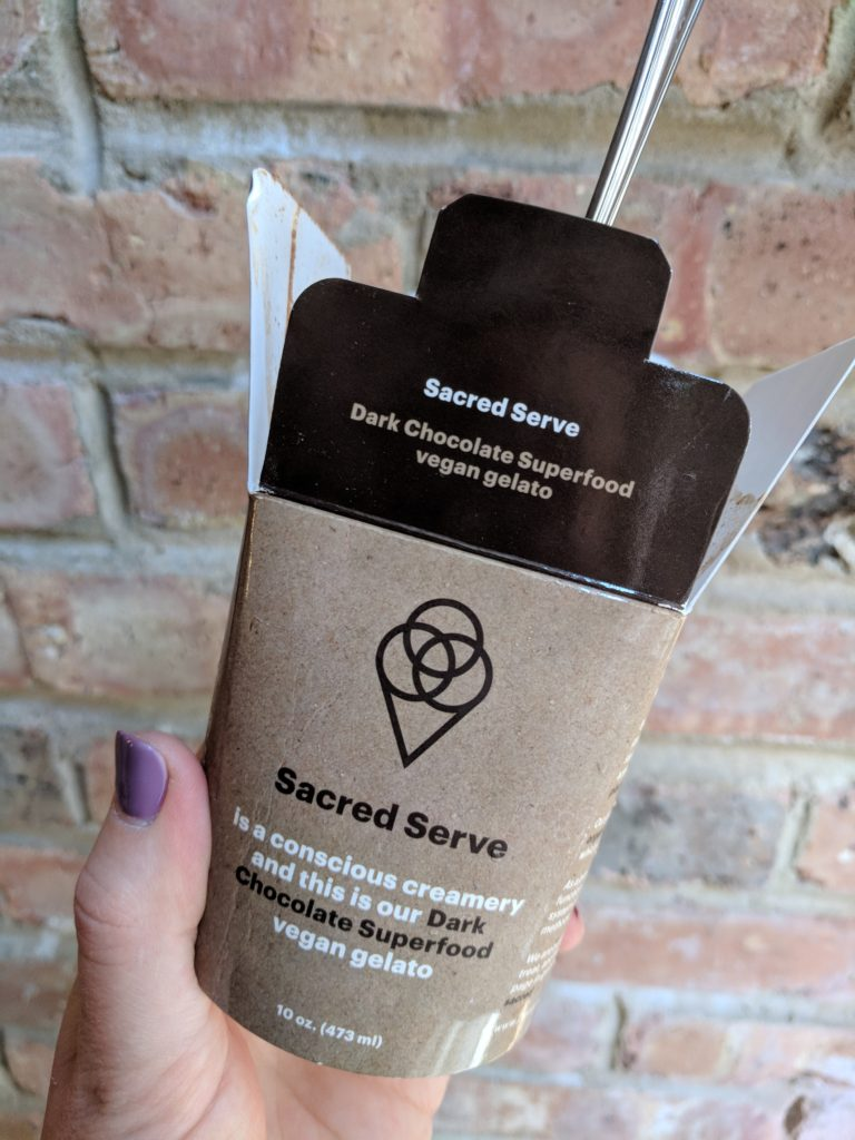 Sacred Serve gelato
