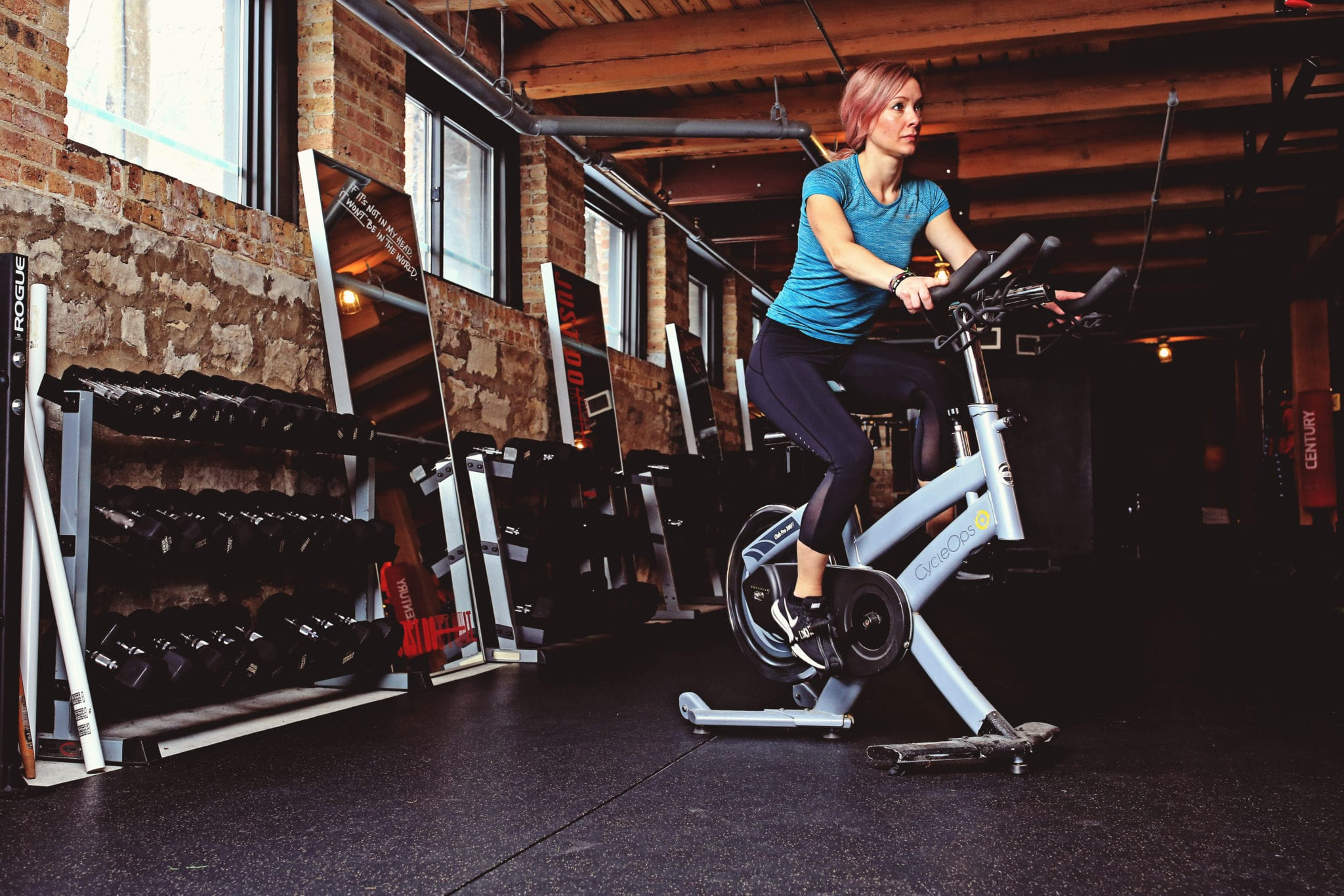 how to become an indoor cycling instructor