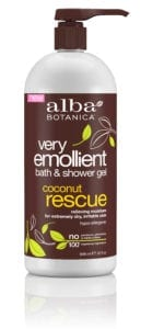 Alba Very Emollient Coconut Rescue Shower Gel