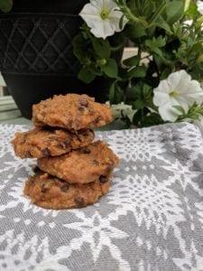 sweet potato chocolate chip cookie