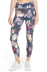 Zero Gravity Print Ankle Leggings