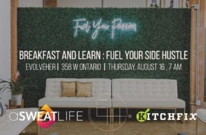 """Fuel Your Side Hustle"" Breakfast and Learn @ evolveHER"
