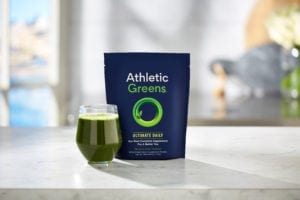 athletic greens fitness drink