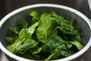 add spinach to your diet