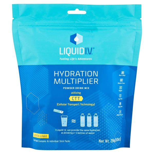 liquid IV fitness drinks
