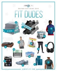 men gift guide fitness health