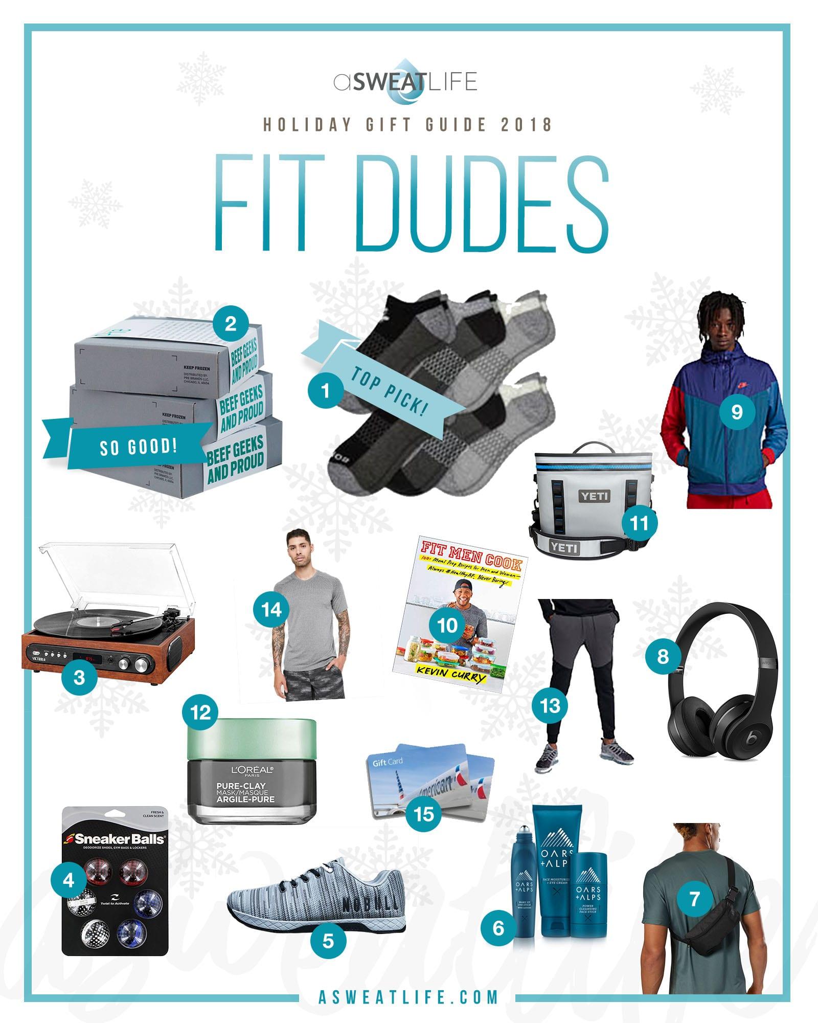 men gift guide fitness health