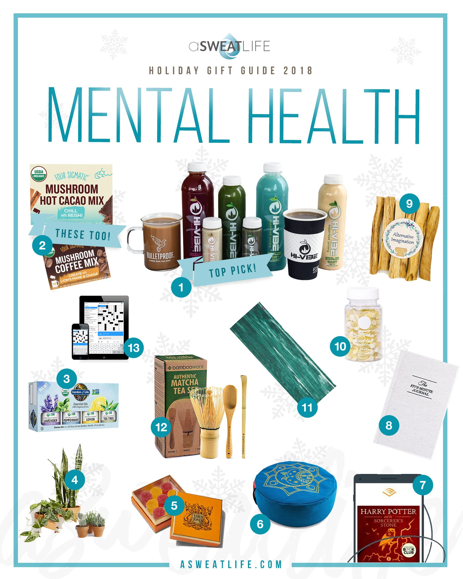 mental health gift guide