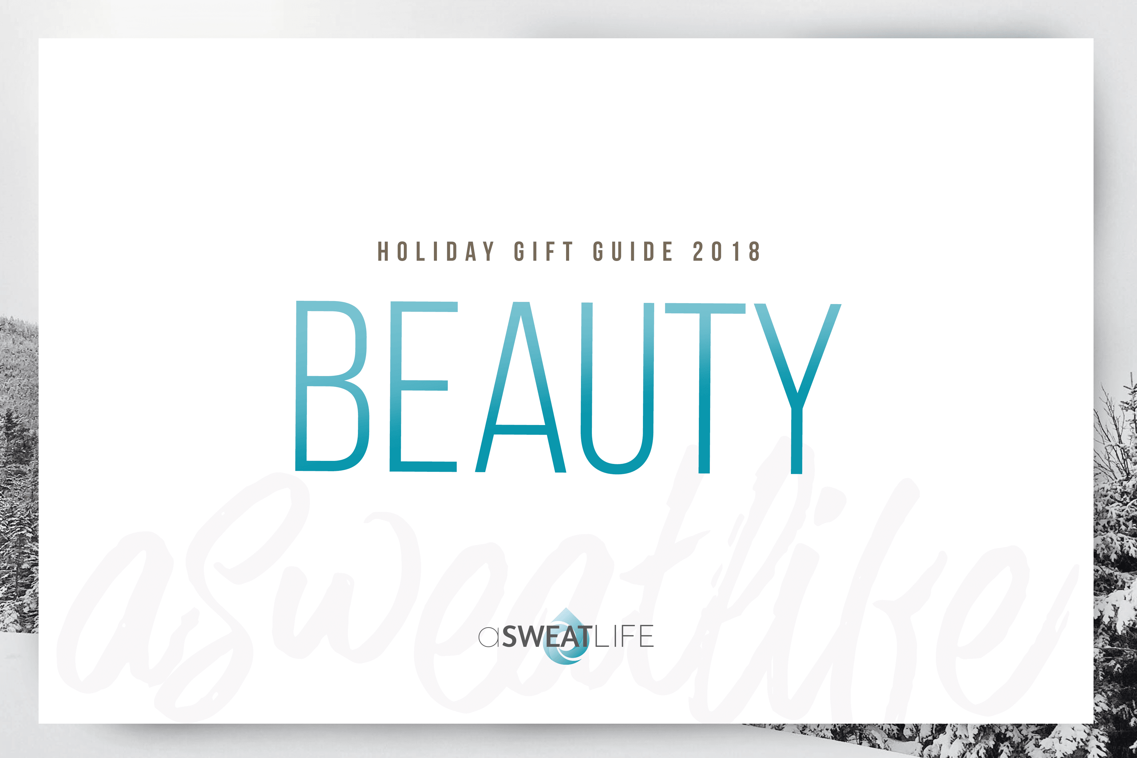 gift guide for beauty