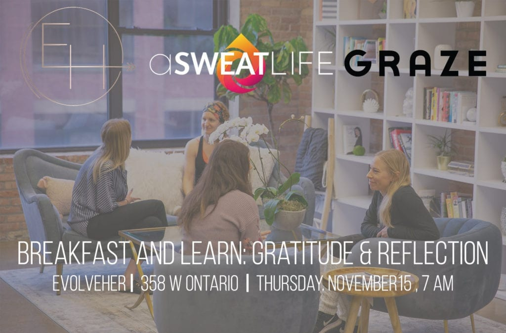 gratitude and reflection breakfast and learn
