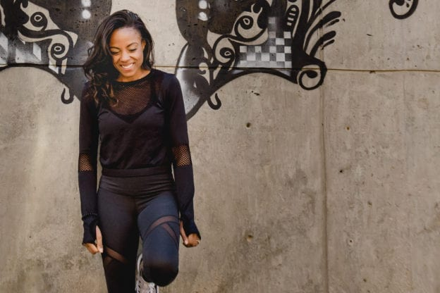 beauty products from athleisure brands