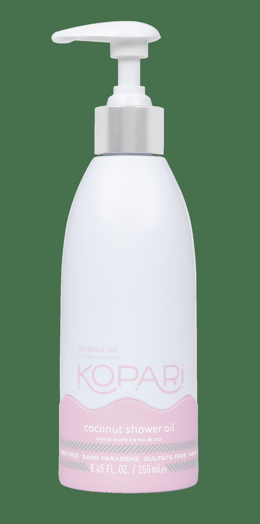 coconut shower oil