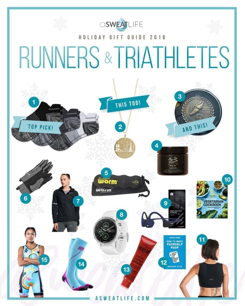 runner triathlete gift guide