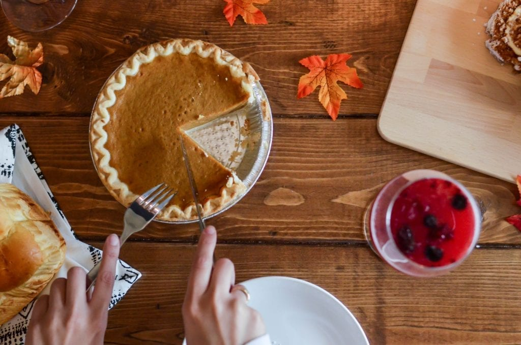 healthy habits for thanksgiving dinner