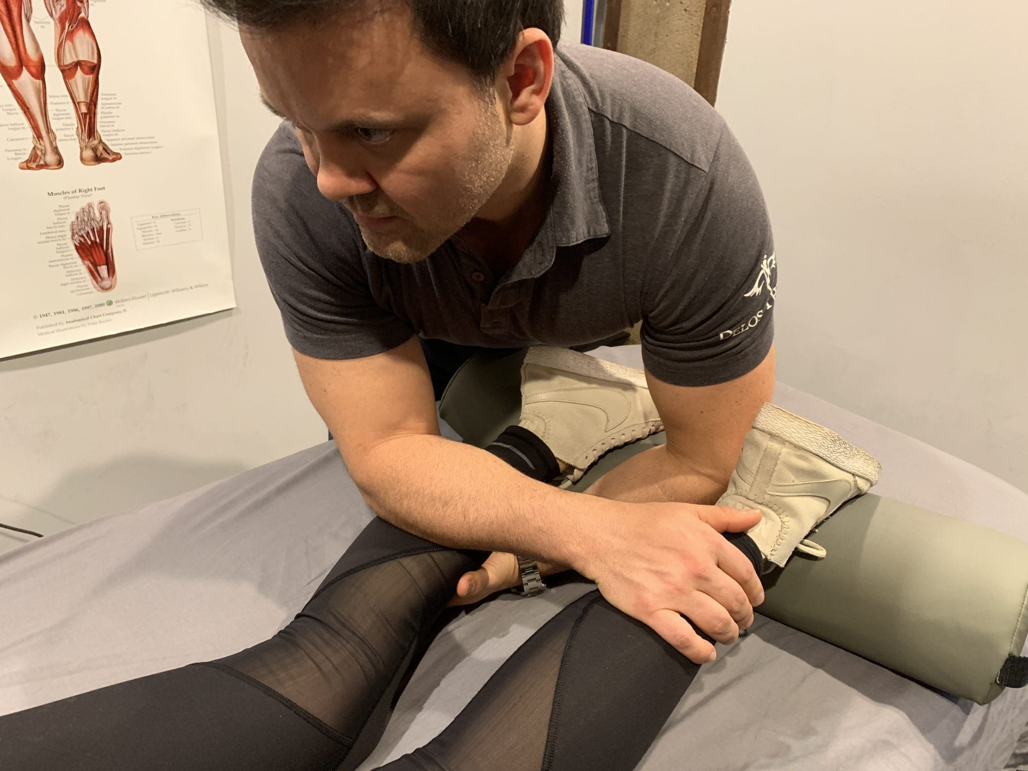 delos therapy calves