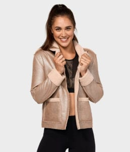 manduka shearling jacket