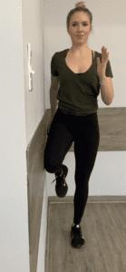 running warm up