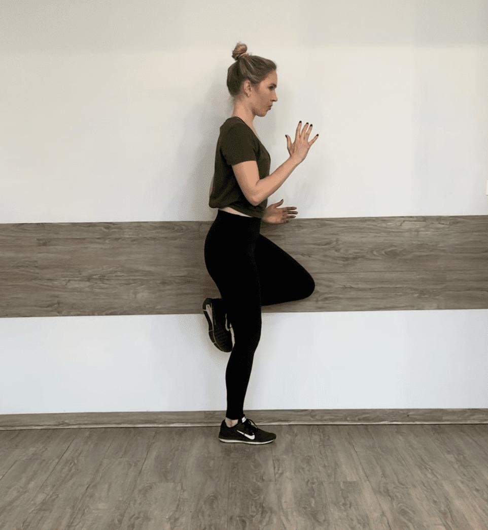 standing hip flexor