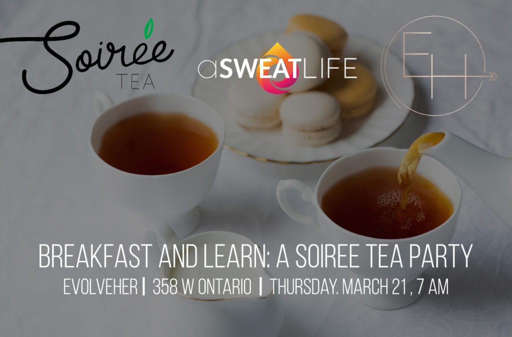 breakfast and learn soiree tea