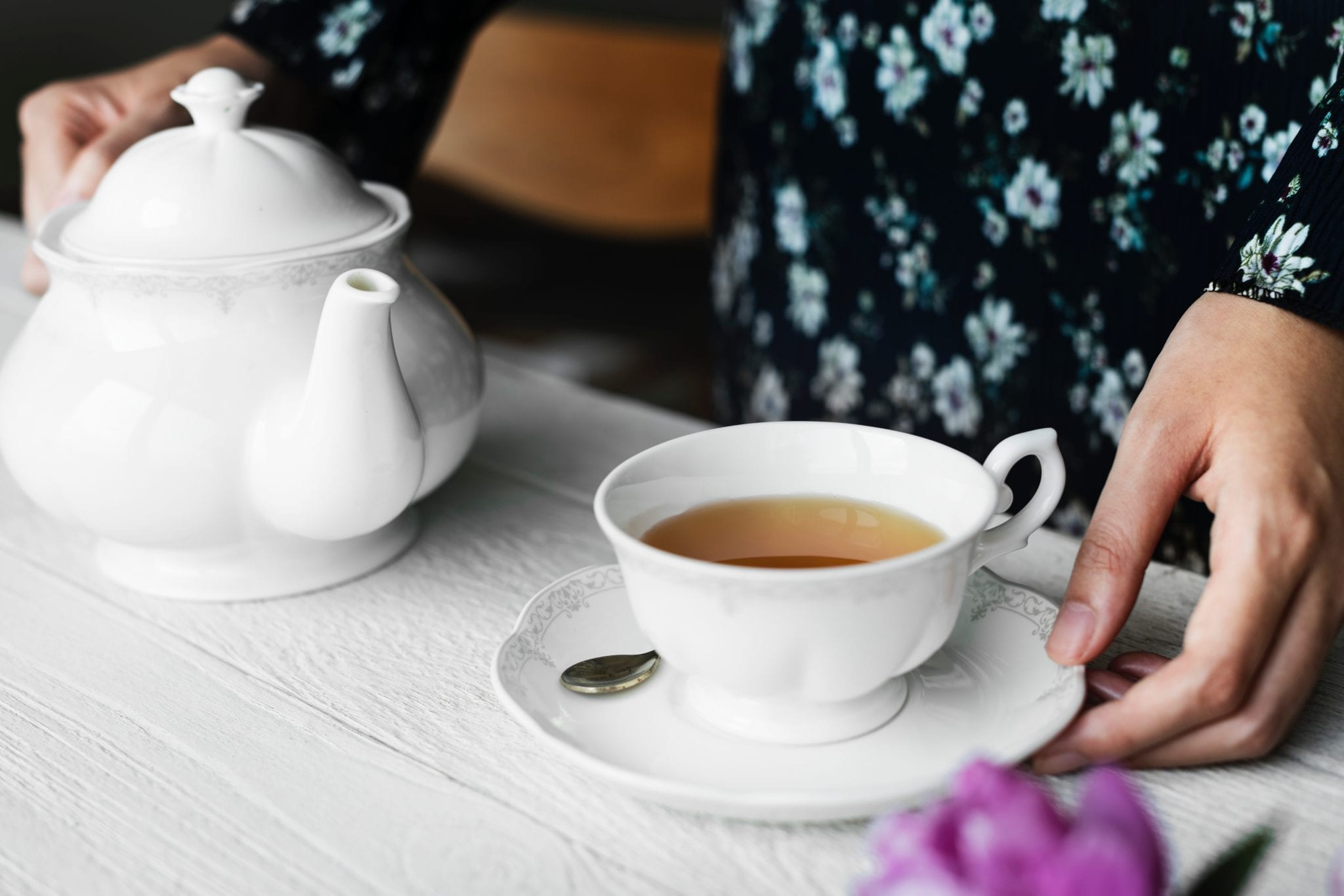 tea breakfast and learn