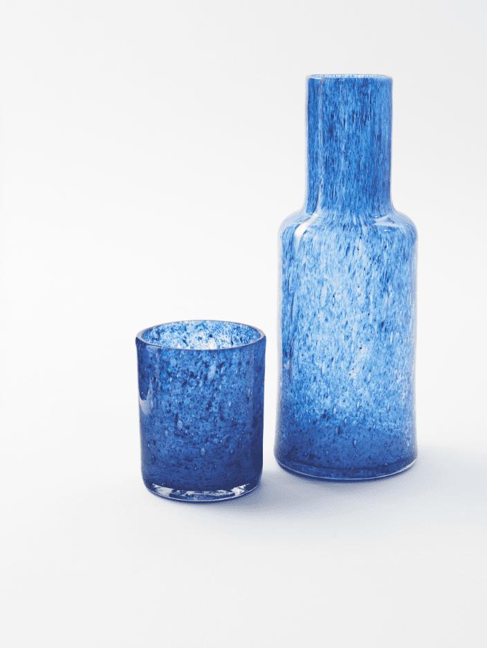 soukra bedside carafe and glass