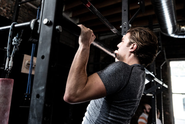 men in group fitness classes