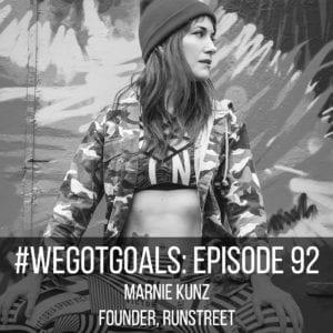 Marnie Kunz Runstreet podcast