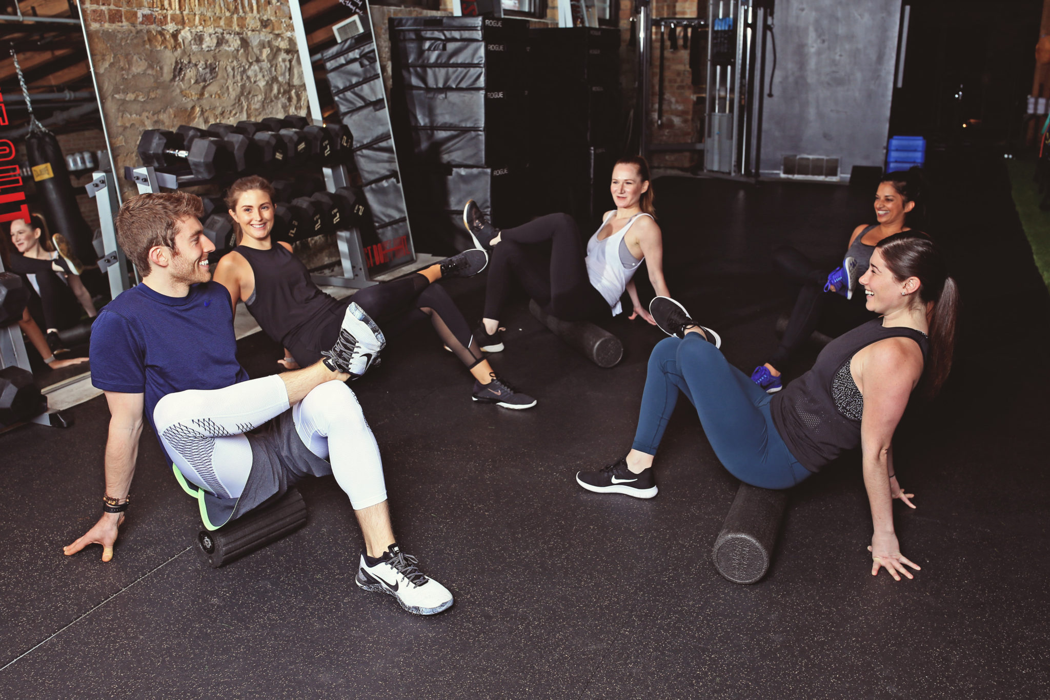 quick hits recovery for gyms