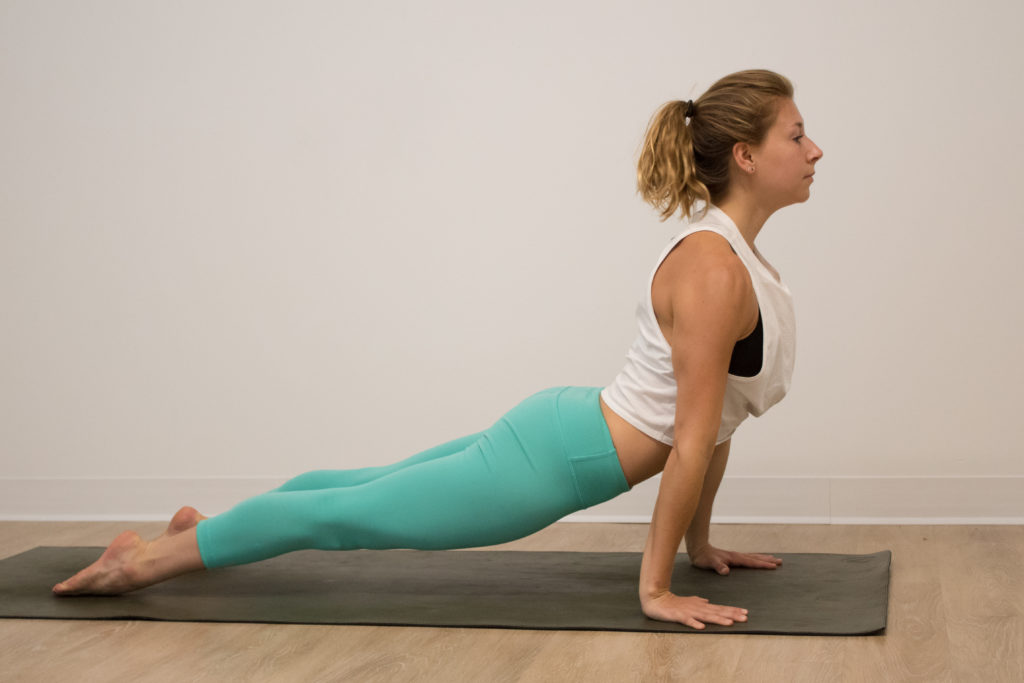 Namaste at Home yoga flow with Maggie Umberger