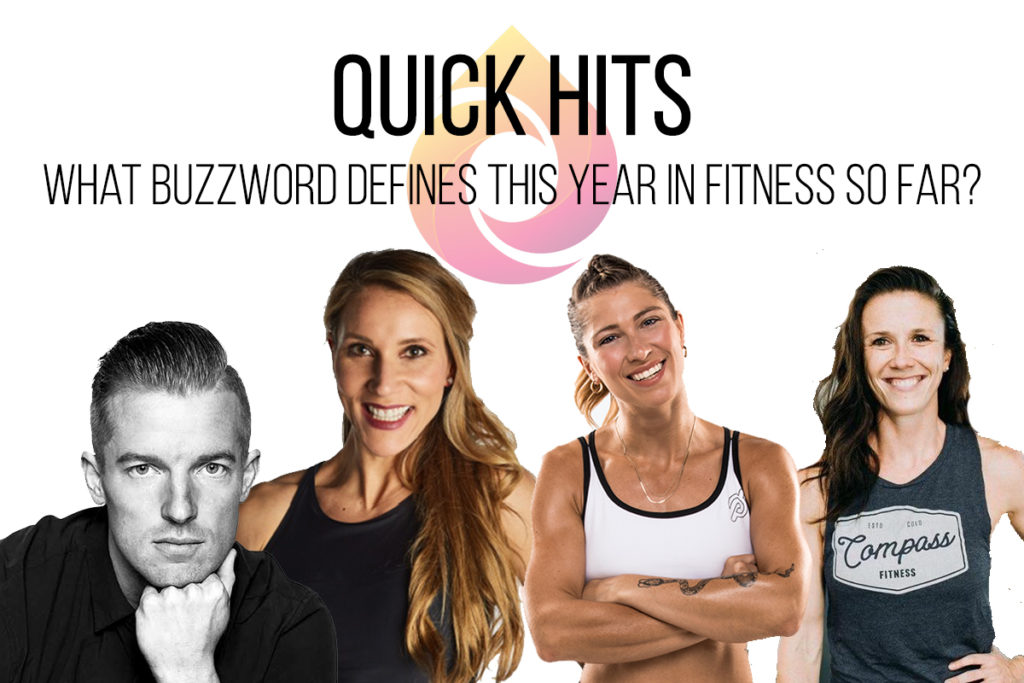 quick hits fitness buzzword