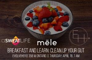 breakfast and learn gut health mele alia dalal