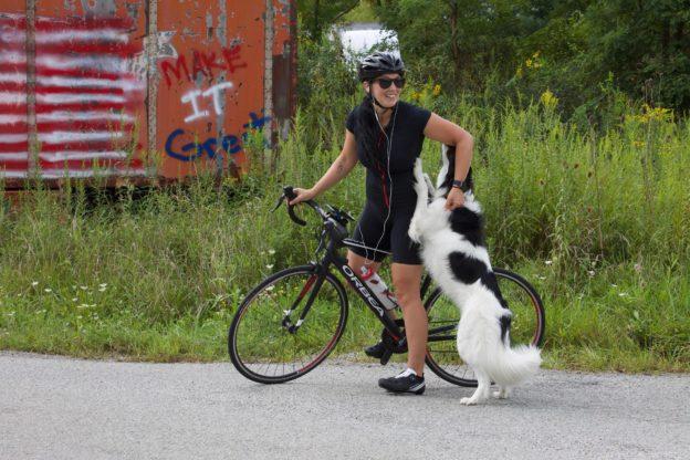 Mara Marek Bike Laugh Heal
