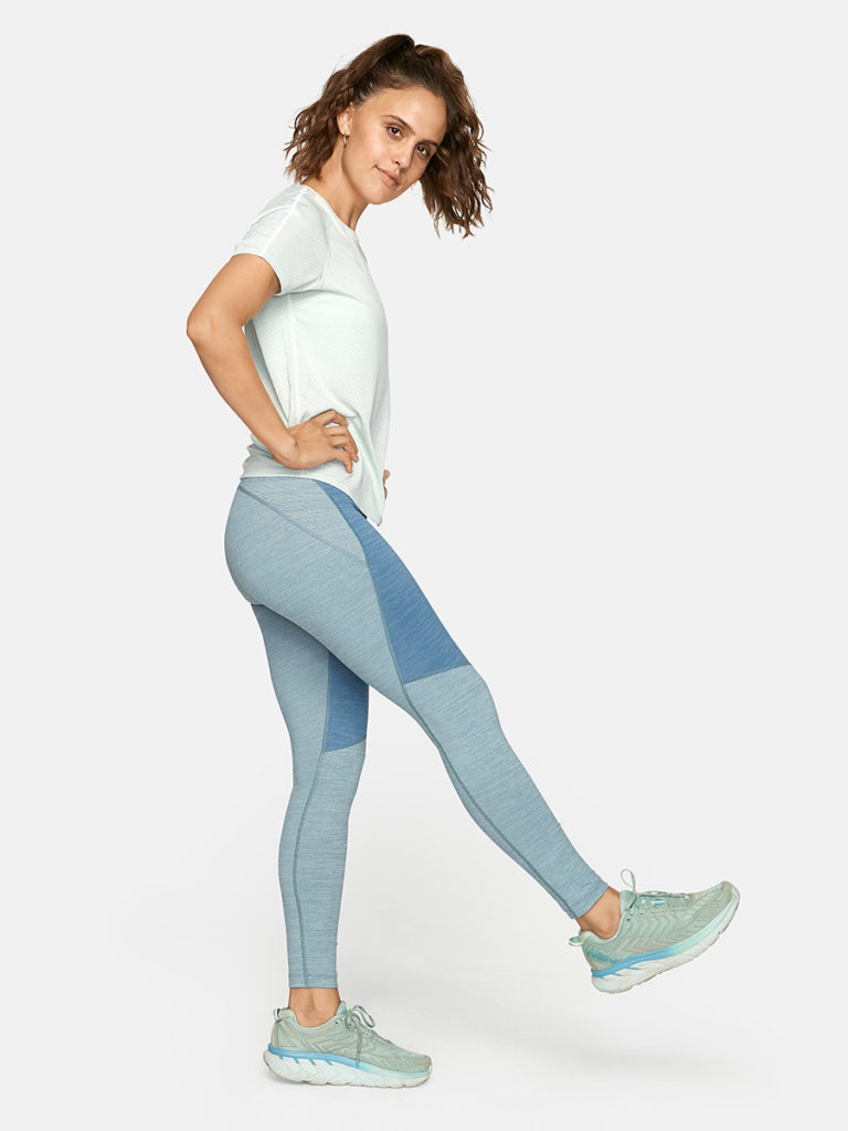 Outdoor Voices Two Tone Tech Sweat Leggings
