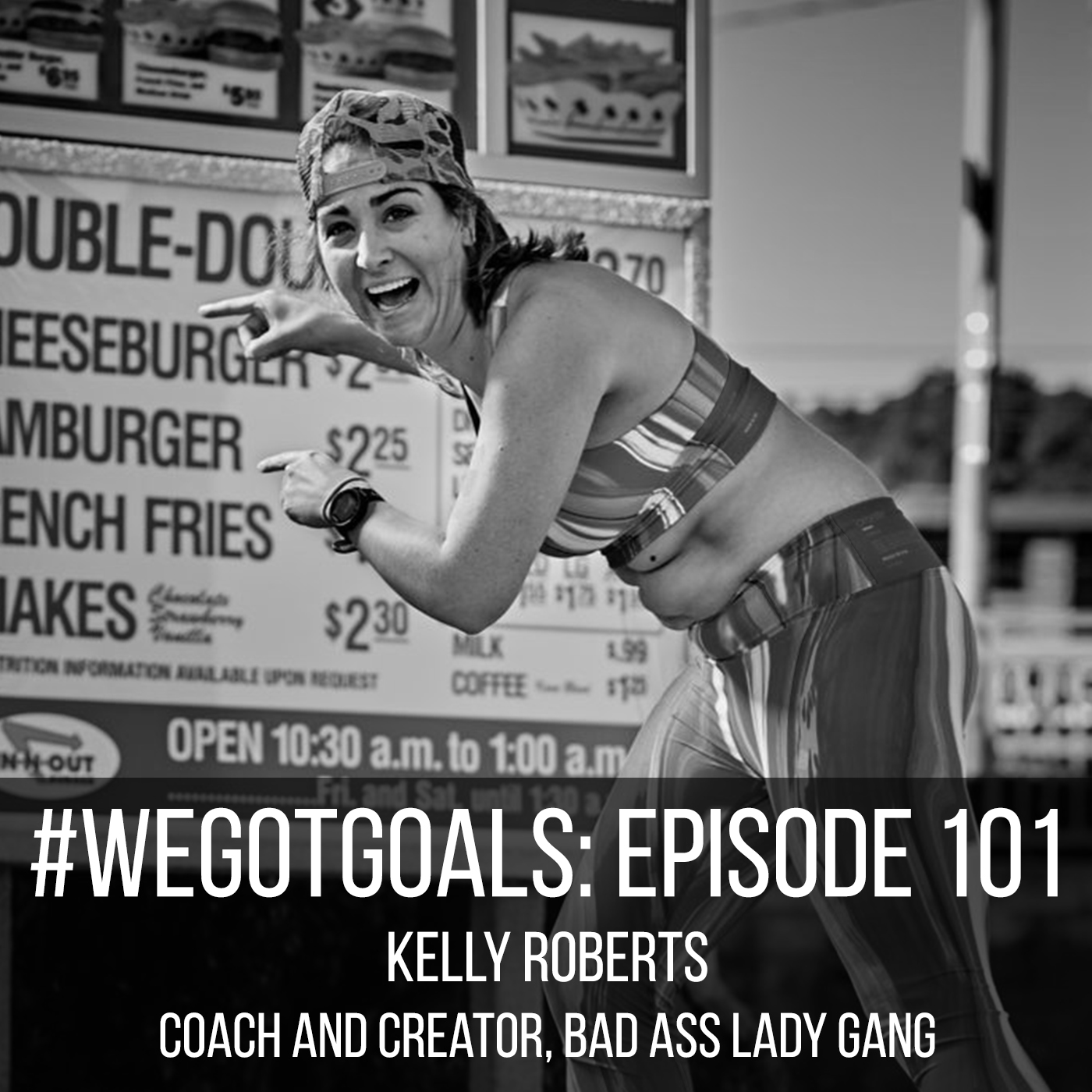 we got goals kelly roberts