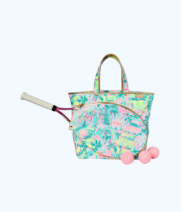 lilly pulitzer tennis bag