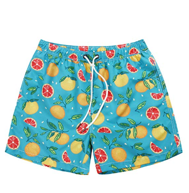 Wuambo Running Swim Board Shorts