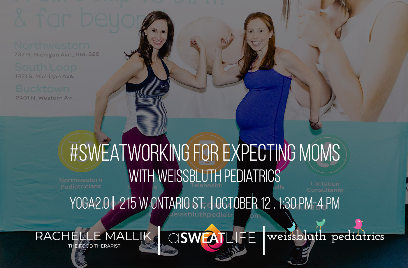 sweatworking for expecting moms with weissbluth