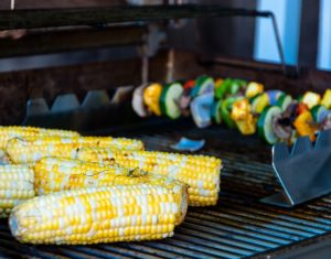 fruits and vegetables to grill