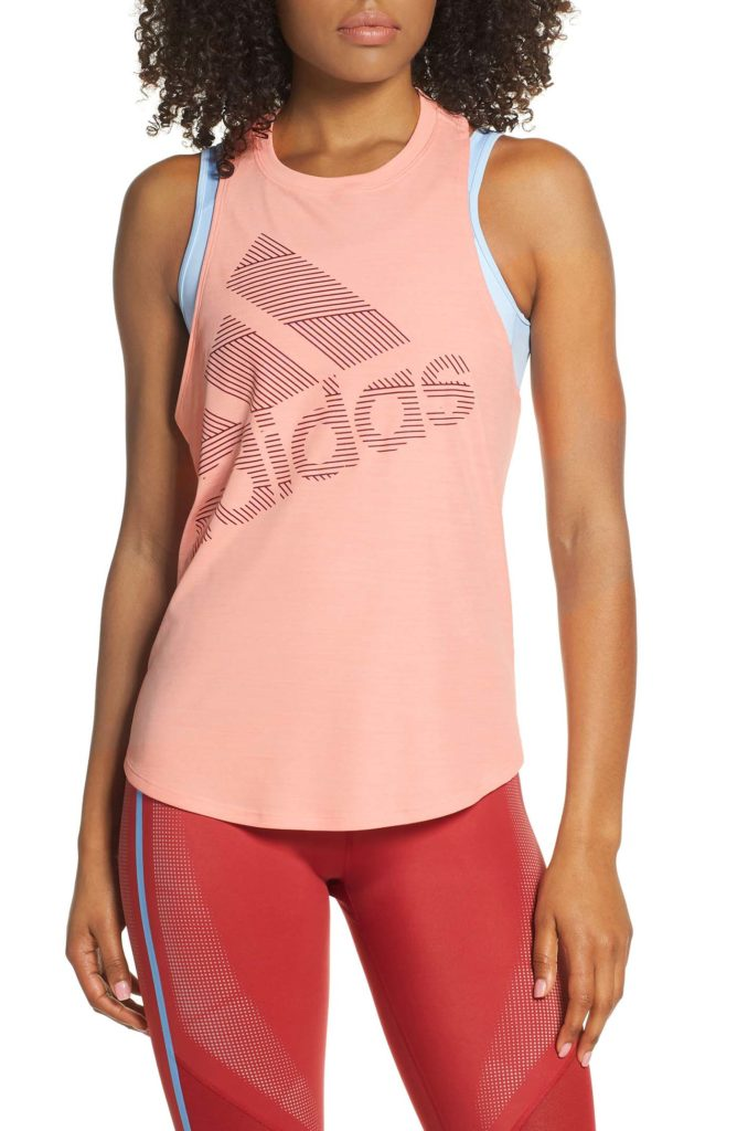 Adidas Badge of sport tank nordstrom anniversary Sale