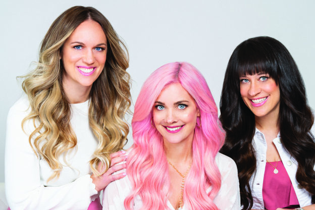 WeGotGoals Beachwaver co-founders Potempa sisters
