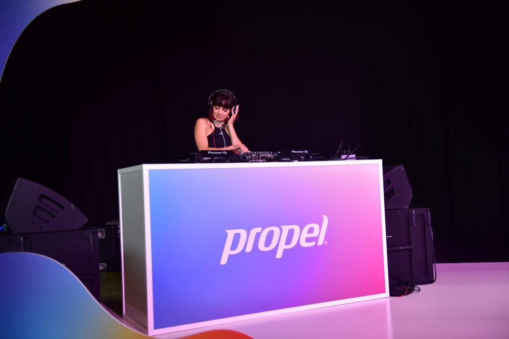 charli xcx at propel co:labs