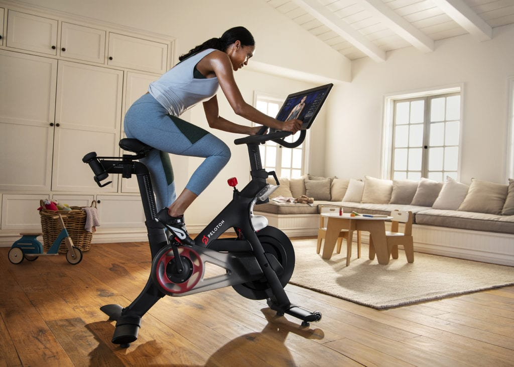 peloton home fitness hardware