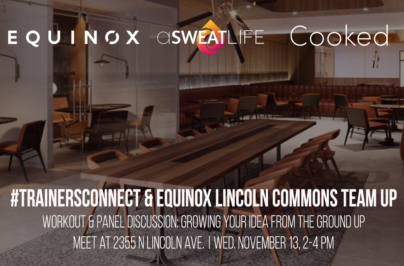 #trainersconnect at equinox lincoln commons november