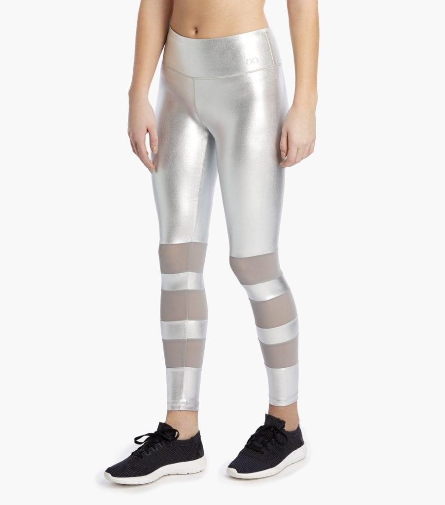 2xist leggings silver