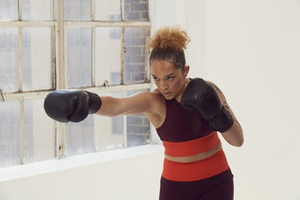 athleta boxing kit